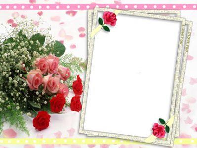 Frame for Photoshop : I Love You | Lentera Hati Love Frames For Photoshop