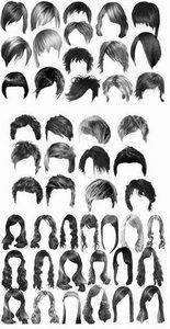 photoshop hairstyles